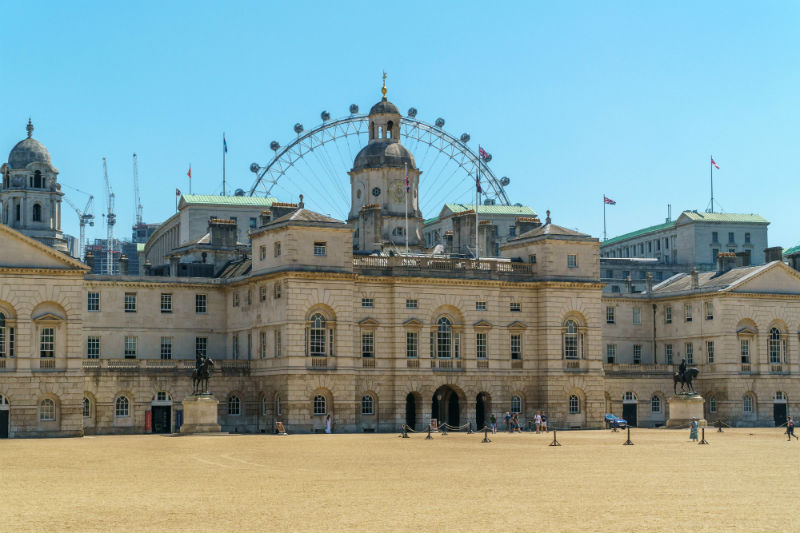 horseguards parade in london shot during the day
